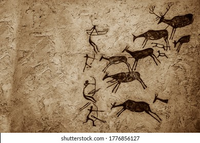 Satukunda Rock Paintings. Just 24 km fom Bhopal, Satkunda has around 5000 year old rock art. Contemporary in quality and age the world Heritage site of Bhim Baithika in the east of Bhopal.