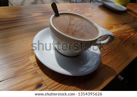 Saturday Afternoon Coffee Stock Photo (Edit Now) 1354395626 ... #afternoonCoffee