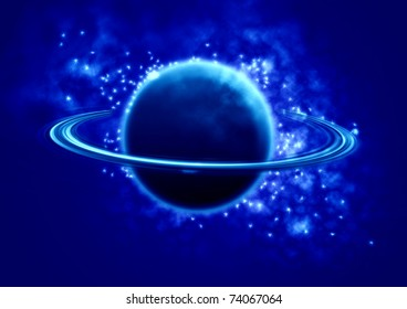 Saturn in the universe