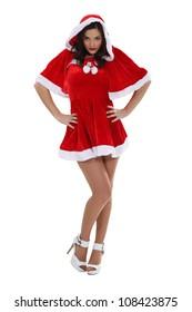 Saucy Miss Santa