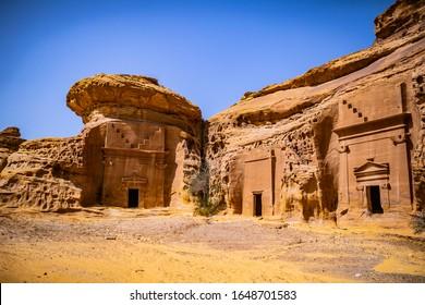 Saudi Arabia desert al ula