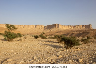 Saudi Arabia desert desert landscape, mountain view - Shutterstock ID 2012771453