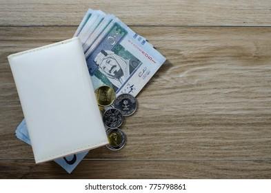 Saudi Arabia Money and Coins (500 Riyal)