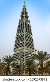Saudi Arabia, Riyadh, Al Faisaliyah Center, faisaliah tower, 7 Jan 2021