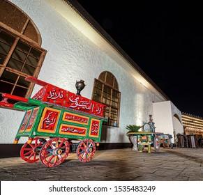 Saudi Arabia / in Riyadh City / at Riyadh Season / 17 Oct 2019 / truck Broad bean in Riyadh boulevard
