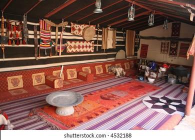Saudi Arabian majlis (room)