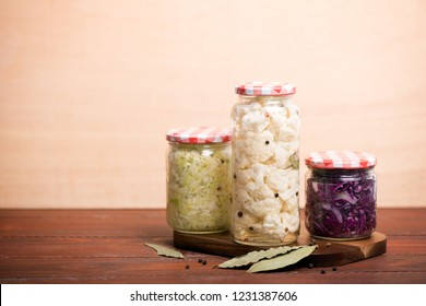 Sauerkraut is fermented cabbage. Typical fermented food in some countries such as Russia. Poland or German. It is the main ingredient of stewed bigos