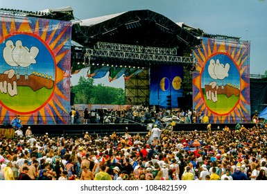 Saugerties, New York, USA, August 12, 1994. 