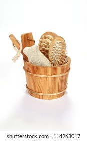 sauna and body care toiletries
