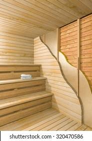 Sauna cut layers