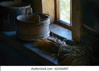 sauna details