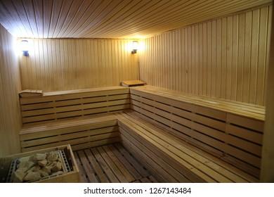 Sauna Ahşap Rahatlama