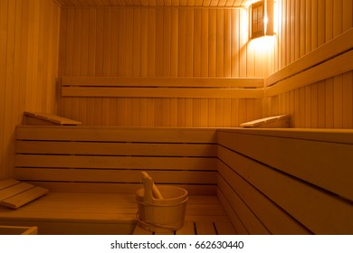 Sauna for rest relaxation and seclusion
