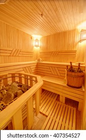 Sauna in the villa