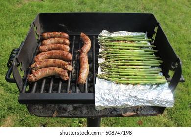 Sausage and Asparagus
