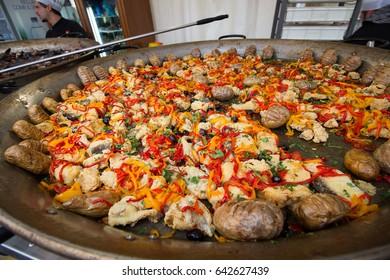 sausage in a damp Portuguese dish