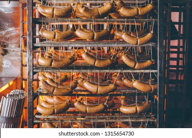 sausage meat factory