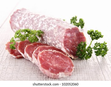 sausage and parsley