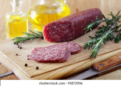 sausage and rosemary