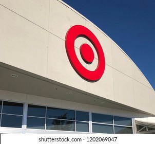 SAUSALITO, CALIFORNIA - SEPTEMBER 16, 2018: Target is the second largest discount retailer in the USA.