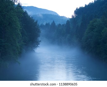 The Sava river in Slovenia