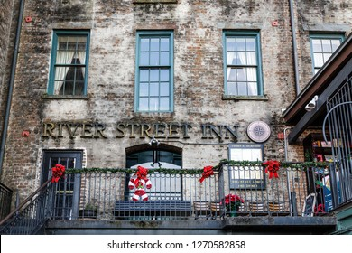 SAVANNAH, GEORGIA - December 4, 2015: Savannah is the oldest city in Georgia. From the historic architecture and parks to the beaches of Tybee, Savannah attracts millions of visitors annually.