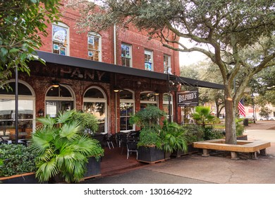 SAVANNAH, GEORGIA - January 8, 2016: Savannah is the oldest city in Georgia. From the historic architecture and parks to the beaches of Tybee, Savannah attracts millions of visitors annually.