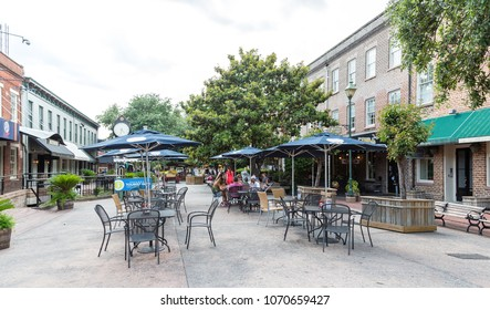 SAVANNAH, GEORGIA - June 5, 2014:  Savannah is the oldest city in Georgia. From the historic architecture and parks to the beaches of Tybee, Savannah attracts millions of visitors annually.