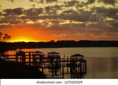 Savannah Georgia Sunrise Sunset