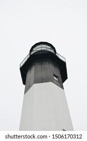 Savannah, Georgia, USA - 2/10/19: Tybee Island lighthouse