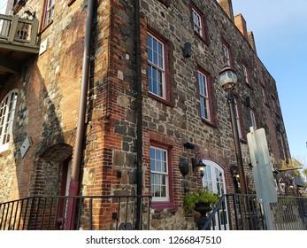Savannah Historic Building Facade