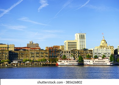 Savannah skyline, Georgia, USA