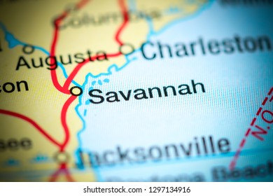 Savannah Map Stock Photos Images Photography Shutterstock