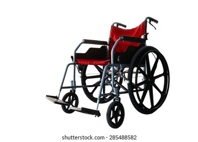 Save clipping path, colorful Wheelchair service in airport terminal