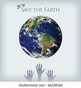 """Save the Earth"" concept"