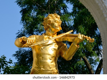 Save to a lightbox?   find similar images   share? Johann Strauss Monument Vienna