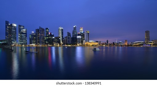 Save to a lightbox?   find similar images   share? Singapore city skyline