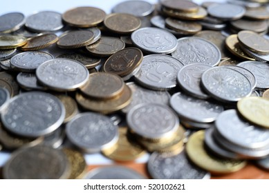 Save money with stack money coin for growing your business, currency economic work, job, task, fair, service, stock market