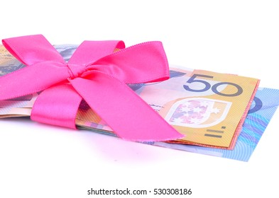 Saving Australian Dollars for a Special Event