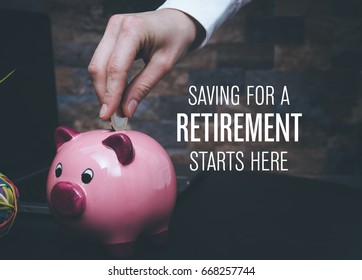 Saving Concept: Retirement