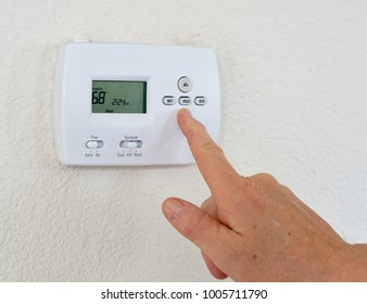 Saving energy by turning down the thermostat to 68* F