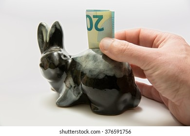 saving money - Shutterstock ID 376591756