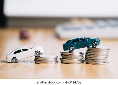 saving money for a car. used for background or material  design.