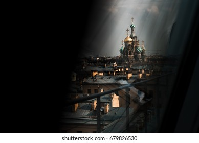 The Savior on Blood, Saint Petersburg. The Cathedral from the roof