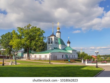 Savior Transfiguration church in Vladimir. The building was built in the XII century.  Russia.