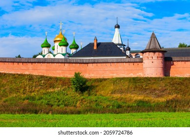 The Saviour Monastery of St. Euthymius in Suzdal city, Golden Ring of Russia