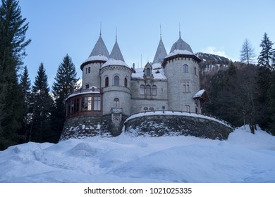 Savoia Castle, Gressoney Saint Jean, Aosta, Italy