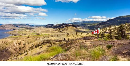 Savona Kamloops British Columbia Canada on 06/30/2018 Viewpoint at Kamloops Lak