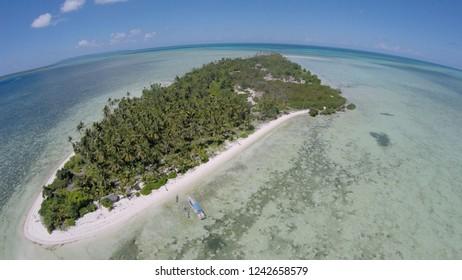 Sawa Island, Wakatobi, Southeast Sulawesi, Indonesia