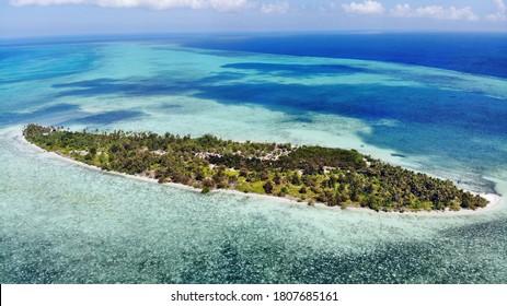 Sawa island, Wakatobi, Sulawesi, Indonesia